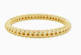 Kendra Scott Natalie Gold Hinge Bracelet