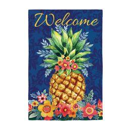 Boho Pineapple Garden Flag
