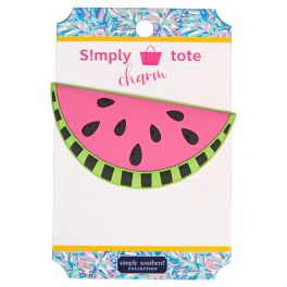 Simply Southern Simply Tote Charm - Watermelon