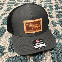 Bonefish Hat - Charcoal & Black