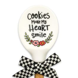 Cookies Silicone Wood Spoon