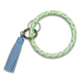 Mint Rope Bangle Keychain