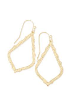 Kendra Scott Sophia Drop Earrings In Gold