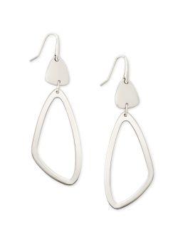 Kendra Scott Kira Drop Earrings In Silver