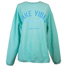 Simply Southern Lake Vibes Crewneck Sweatshirt