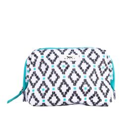 Scout Little Big Mouth Toiletry Bag - Teal Diamond