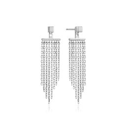 Ania Haie Silver Fringe Fall Ear Jackets