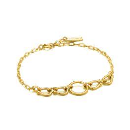 Ania Haie Gold Horseshoe Link Bracelet