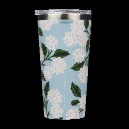 Corkcicle Rifle Paper Co Tumbler - Blue Hydrangea