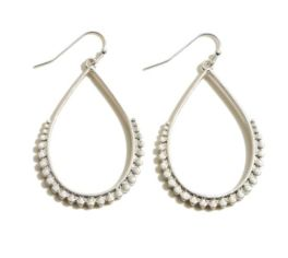 All In The Details Earrings - Silver