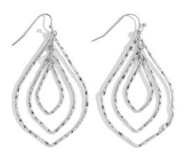 Classic Style Earrings - Silver