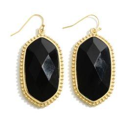 In This Lifetime Earrings - Black