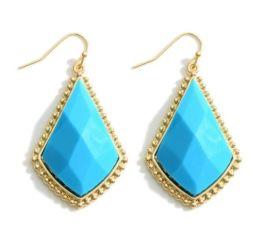 Wake Me Up Earrings - Turquoise