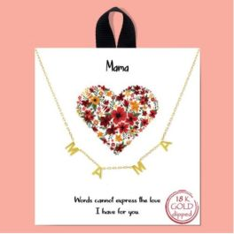 MAMA'S Love Necklace - Gold