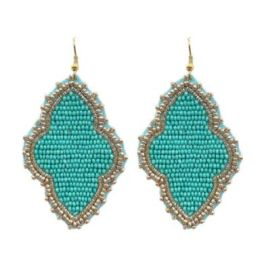 Finding You Again Earrings - Turquoise