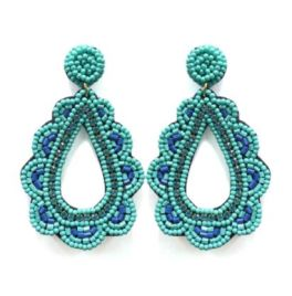 Catch The Tide Earrings - Turquoise