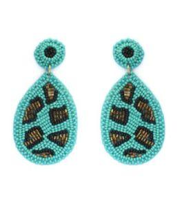 Shining Through Earrings - Turquoise
