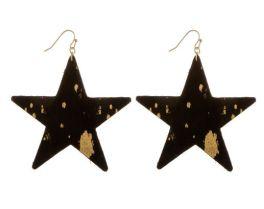 A Star Is Born Earrings - Black