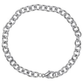 "Rembrandt Round Cable Link Classic Bracelet - 8"""