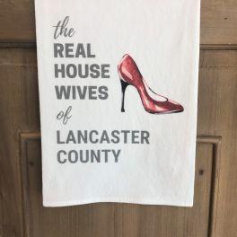 Real Housewives Shoe Flour Sack Towel