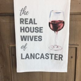 Real Housewives Cocktail Flour Sack Towel