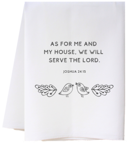 Me And My House Flour Sack Towel