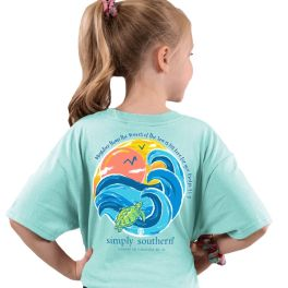 Simply Southern Waves T-Shirt - YOUTH