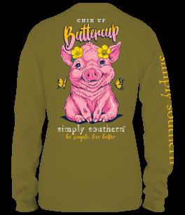 Simply Southern Pig Long Sleeve T-Shirt