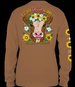 Simply Southern Sassy Long Sleeve T-Shirt
