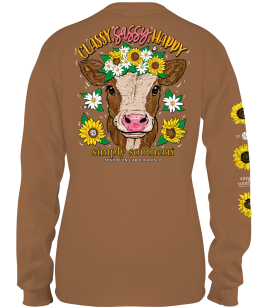 Simply Southern Sassy Long Sleeve T-Shirt - YOUTH