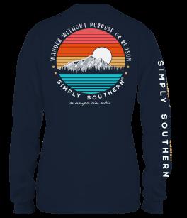 Simply Southern Men's Wander Long Sleeve T-Shirt
