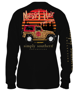 Simply Southern Care Long Sleeve T-Shirt