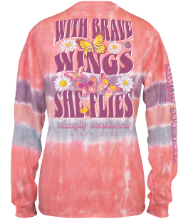 Simply Southern Brave Long Sleeve T-Shirt