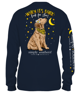 Simply Southern Dark Long Sleeve T-Shirt - YOUTH