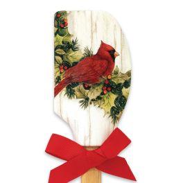 Cardinal Christmas Spatula