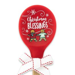 Christmas Blessings Silicone Spoon