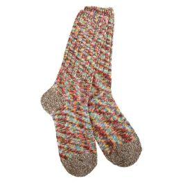 World's Softest Weekend Ragg Crew Socks - Carousel