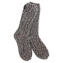 World's Softest Cozy Crew Socks - Shadow