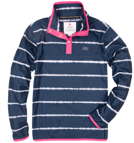 Simply Southern Stripe Tie-Dye Pullover - YOUTH