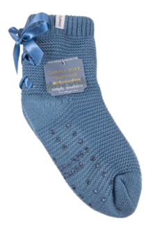 Simply Southern Bow Camper Socks - Stone