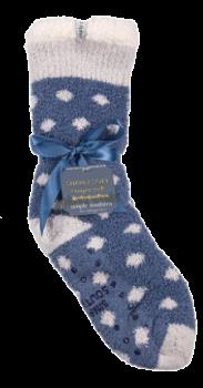 Simply Southern Dot Camper Socks - Stone