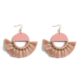 Never A Dull Moment Earrings - Blush Pink