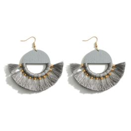 Never A Dull Moment Earrings - Grey