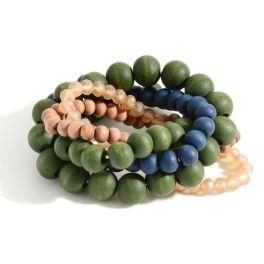 Take My Hand Bracelets - Mint/Olive