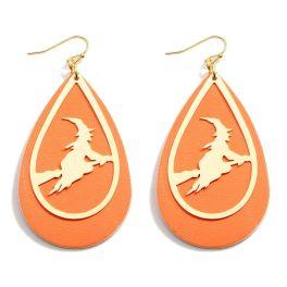 Perfectly Wicked Earrings - Orange