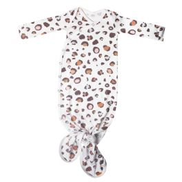 Copper Pearl Newborn Knotted Gown - Millie