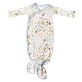 Copper Pearl Newborn Knotted Gown - Rex