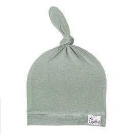 Copper Pearl Top Knot Hat - Briar