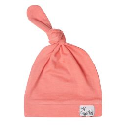 Copper Pearl Top Knot Hat - Stella
