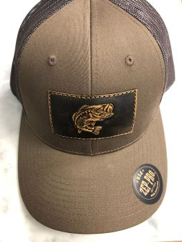 Bass Richardson 112 Trucker Hat - Chocolate Chip/Gray